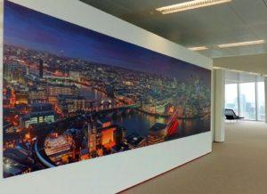 Печать на фотобумаге большого размера на всю стену