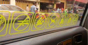 Символика наклеек, спецзнаки на заказ