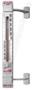 Термометр уличный с логотипом для окон ПВХ