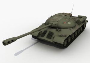 Живая копия танка