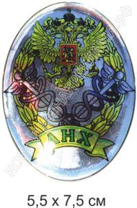 На металлизированной пленке для Академии народного хозяйства при Правительстве РФ