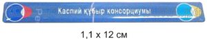 Для издателя книги о нефтепроводе страны Казахстан (проклеивается на ребро книги)