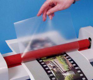 Покрытие матовой плёнкой