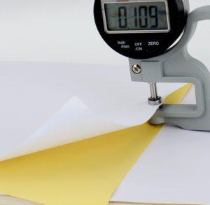 Плотность бумаги от 8 до 520 г.кв.м