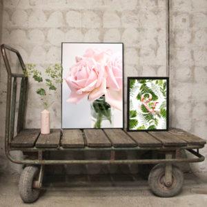 Печать картин на холсте для интерьера комнаты дома и офиса