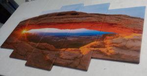 Печать на холсте с натяжкой на подрамник музейная: классическая, планшетная