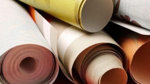 Печать фотообоев в рулонах и листах