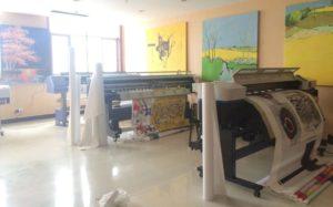 Оборудование для печати на холсте
