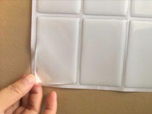Прозрачные объемные наклейки