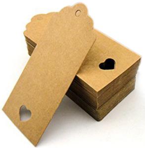 Шильдики - бумажные бирки