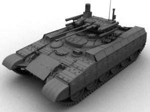 Живая копия русского танка