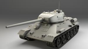 Живая копия танка Т-34