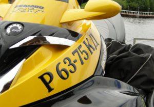 наклейка на водный мотоцикл
