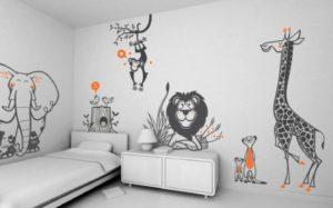 Безвредные фотообои для детской комнаты игровой
