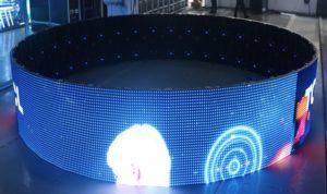 Светодиодный экран по кругу - круговой