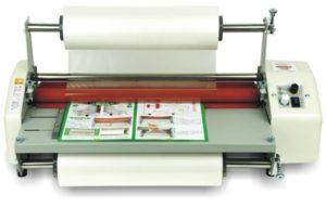 Ламинация бумаги ламинатором